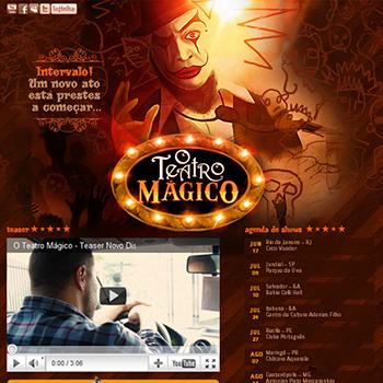 Teatro Mágico – Hotsite